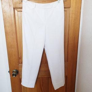 3/$15. Talbots Petites Stretch Lined White Pants